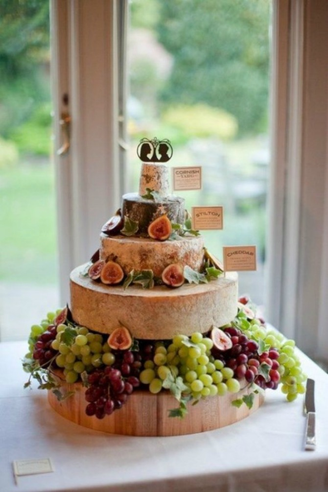 torte od sira31 Torte od sira na venčanju zaseniće svaki dezert