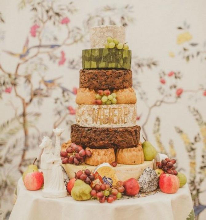 torte od sira4 Torte od sira na venčanju zaseniće svaki dezert