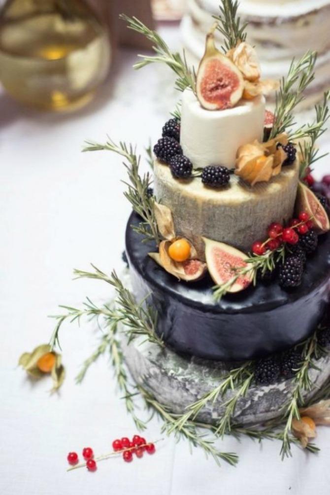 torte od sira5 Torte od sira na venčanju zaseniće svaki dezert