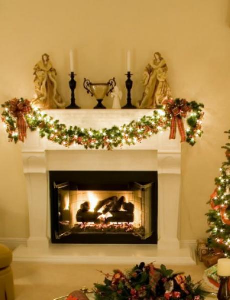 Dekoracija doma za predstojeće praznike