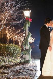 Dekoracija na venčanju inspirisana prazničnim motivima