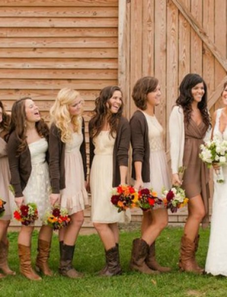Obojite vaše venčanje u braon