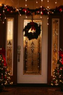 Ukrasite vrata za praznike
