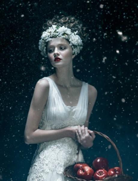 Zimske venčanice inspirisane bajkom