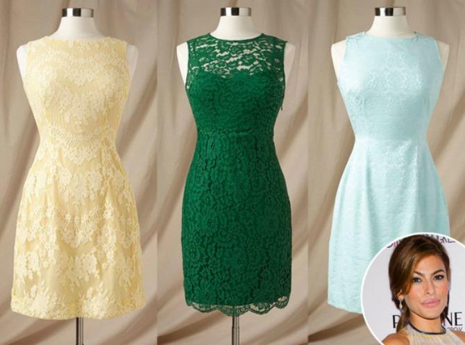 eva mednse haljine za deveruse Eva Mendes kreira toalete za deveruše