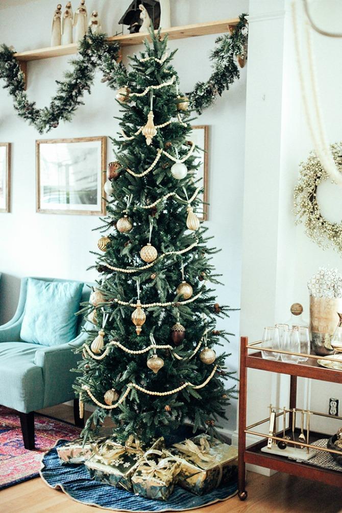 jelka Dekoracija doma za predstojeće praznike