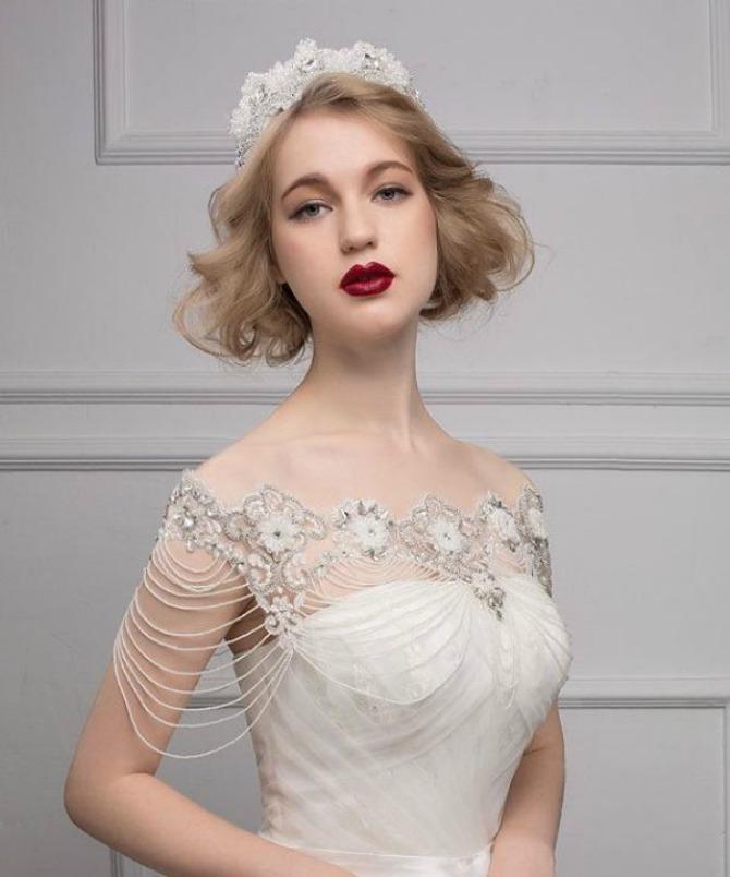 nakit za ramena11 Nakit za ramena za savršen izgled na venčanju