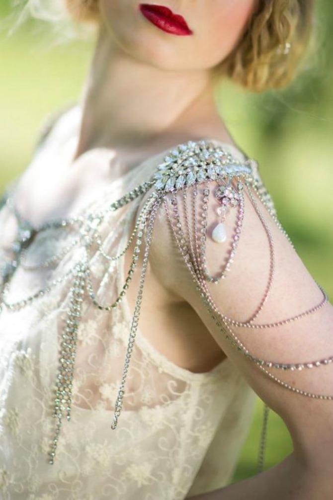 nakit za ramena2 Nakit za ramena za savršen izgled na venčanju