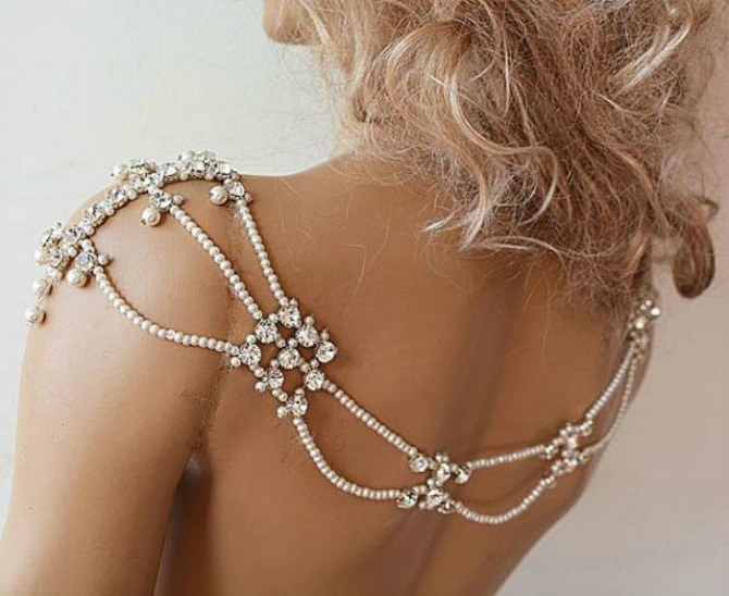 nakit za ramena22 Nakit za ramena za savršen izgled na venčanju