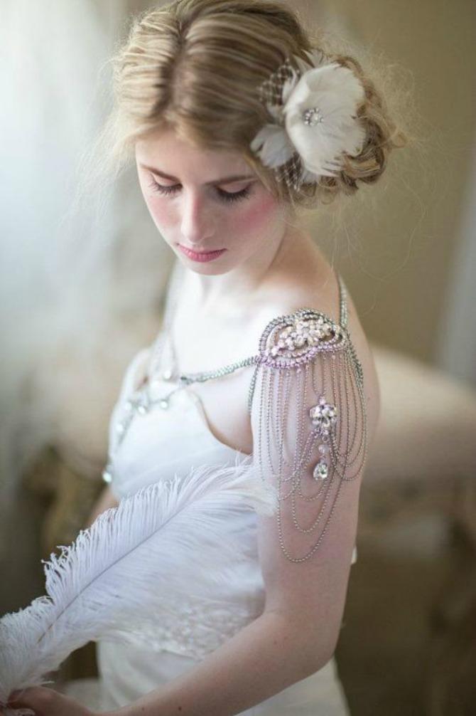 nakit za ramena3 Nakit za ramena za savršen izgled na venčanju