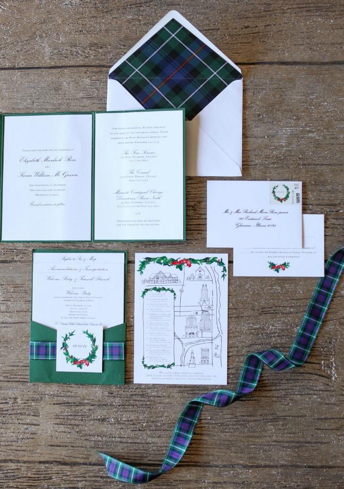 pozivnice Dekoracija na venčanju inspirisana prazničnim motivima