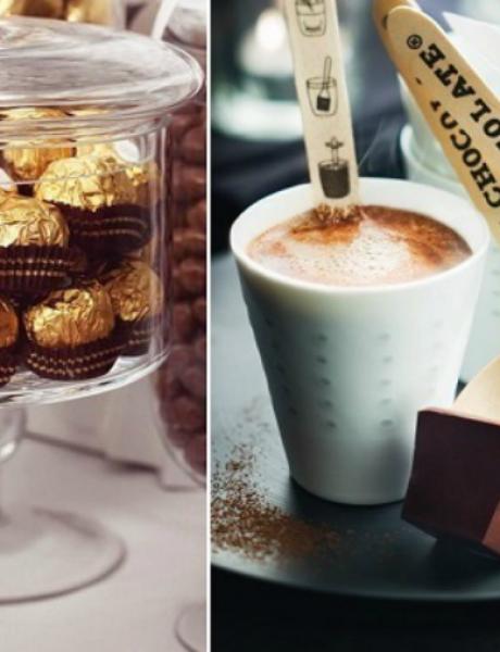 Ideje da čokoladom ukrasite venčanje