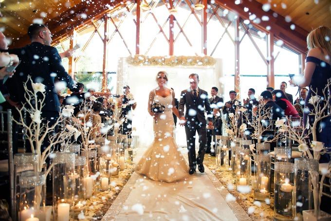 ideje za zimsko vencanje 1 Ideje za zimsko venčanje za pamćenje