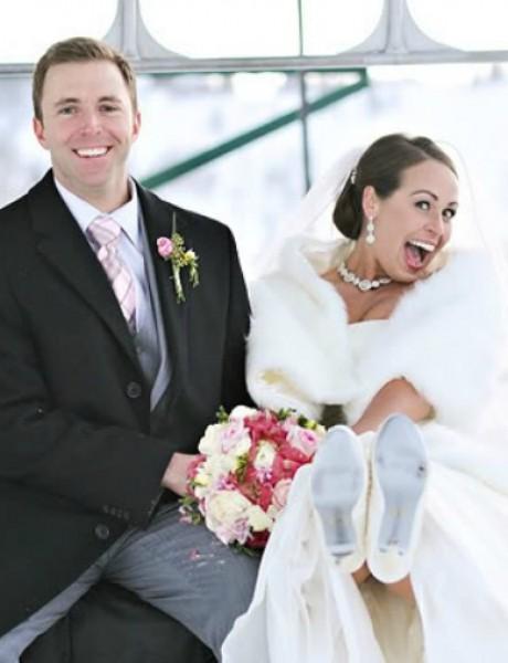 Stvari koje su REZERVISANE samo za zimsko venčanje