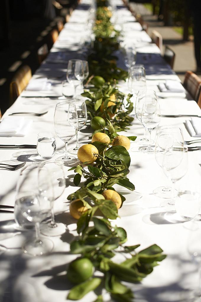 limun kao dekoarcija na vencanju11 Ideje kako da uvrstite LIMUN kao dekoraciju na venčanju