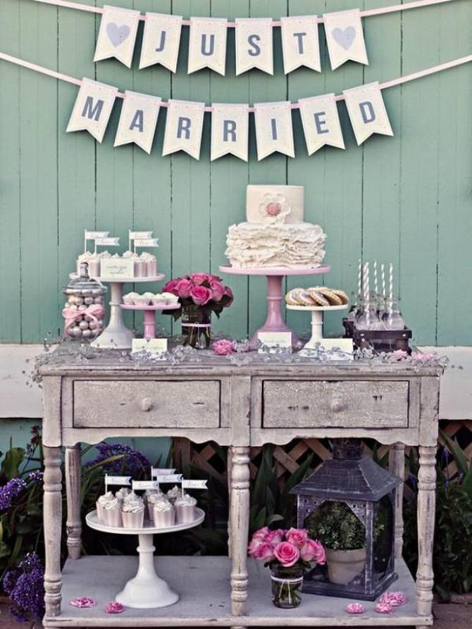 torta2 Na koje načine možete da ukrasite i aranžirate torte i dezerte na venčanju