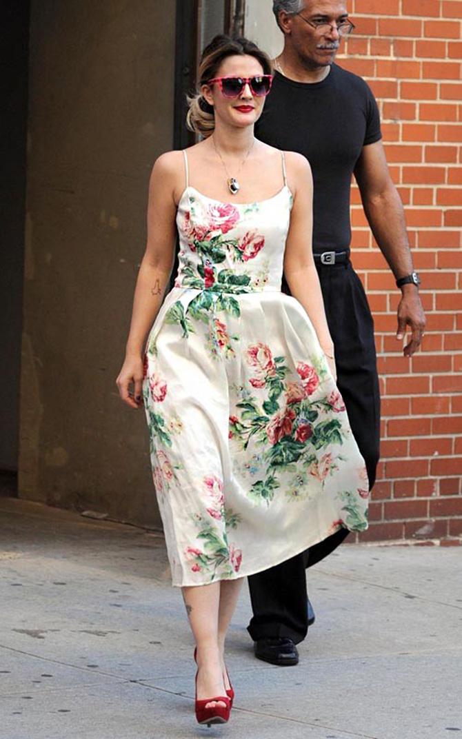 1 cvetna haljina Šta obući kada ste pozvani na venčanje?