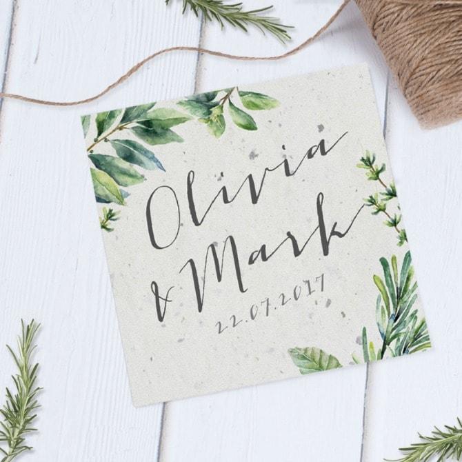 1 pozivnica min 6 pozivnica savršenih za prolećno venčanje