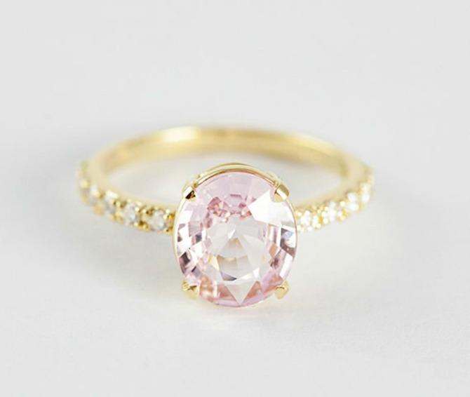 1 roze safir Najlepše vereničko prstenje u boji (GALERIJA)