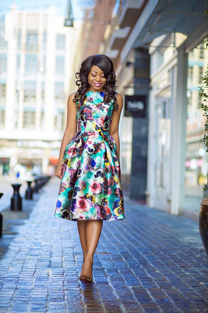 2 cvetna haljina Šta obući kada ste pozvani na venčanje?