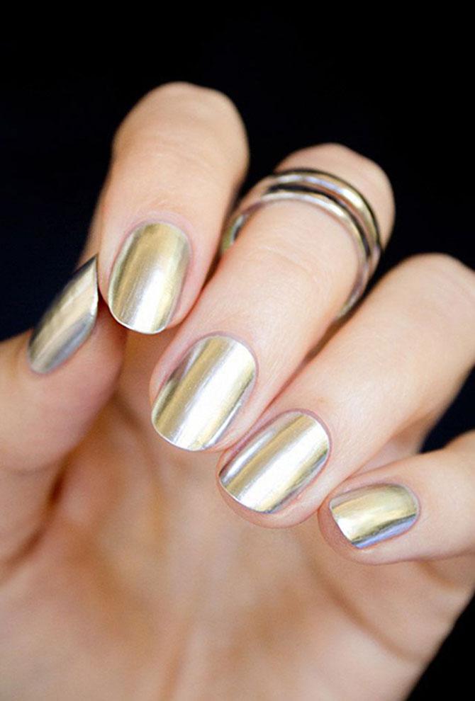 3 Ideje za manikir: METALIK nokti