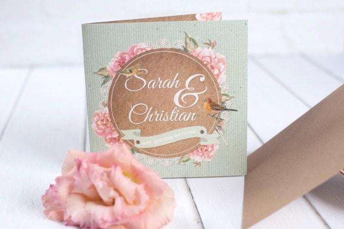 4 pozivnica min 6 pozivnica savršenih za prolećno venčanje