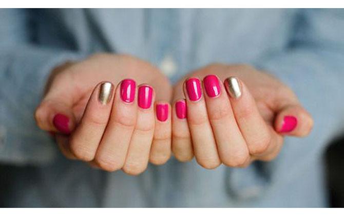 4 Ideje za manikir: METALIK nokti