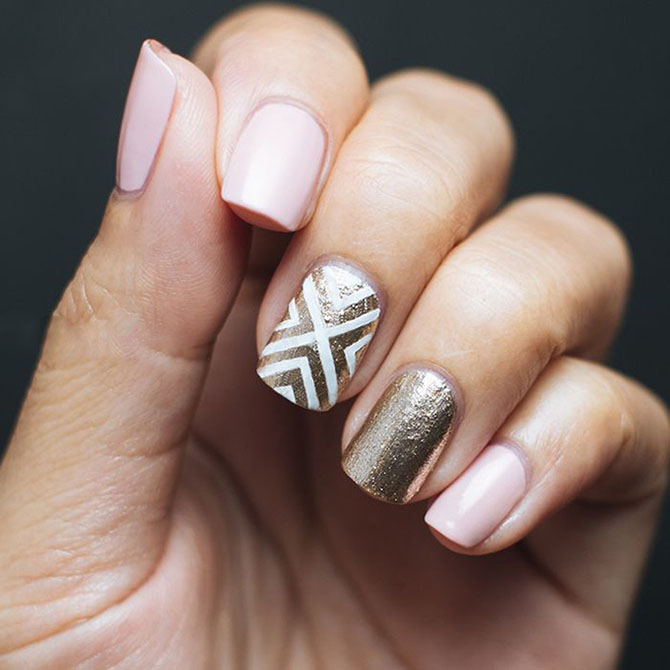 8 Ideje za manikir: METALIK nokti