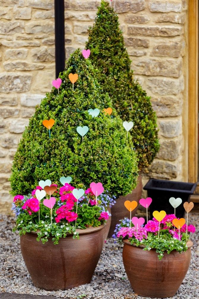 dekoracija min1 Kreativna URADI SAM ideja za dekoraciju na venčanju