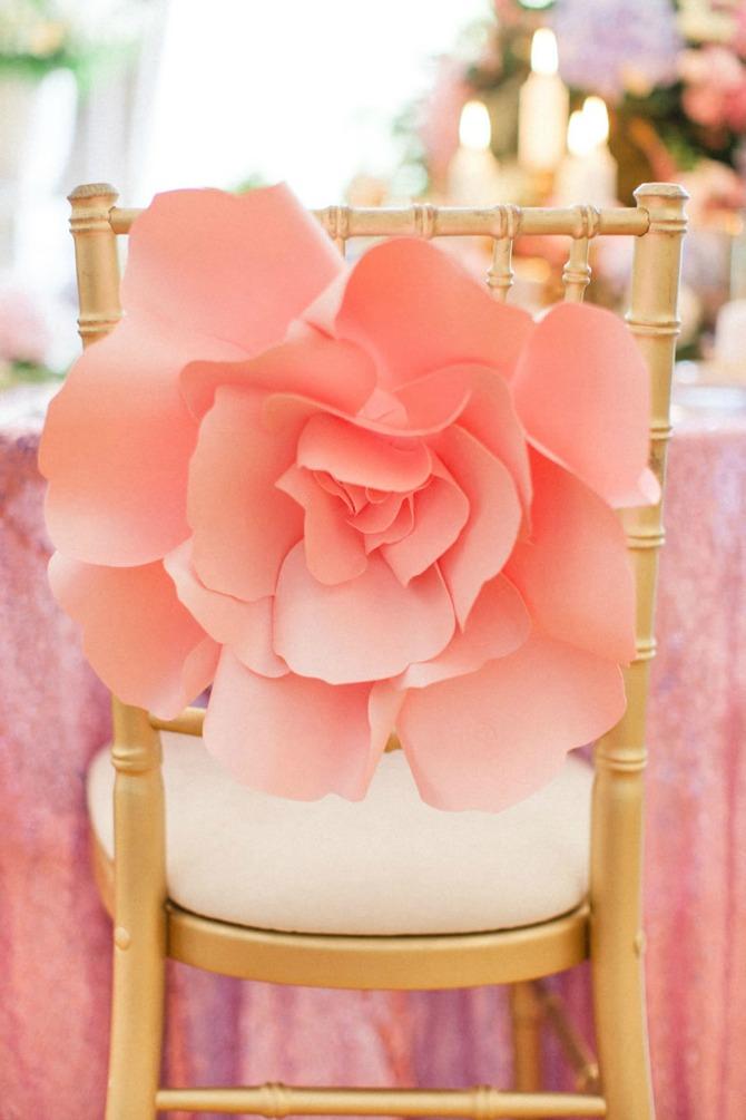 papirno cvece2 Cveće od papira kao dekoracija? Zašto da ne!