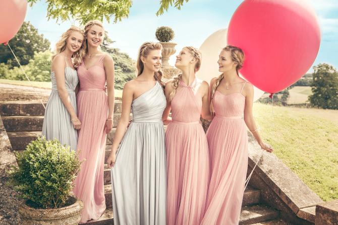 3333 Najbolje drugarice u ROZE haljinama na dan vašeg venčanja