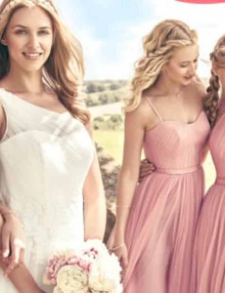 Najbolje drugarice u ROZE haljinama na dan vašeg venčanja