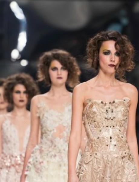 BIPA Nedelja mode u Zagrebu: Rapsodija najraskošnijih venčanica