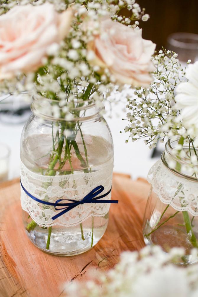 221 Dekoracija od ČIPKE za vaše venčanje
