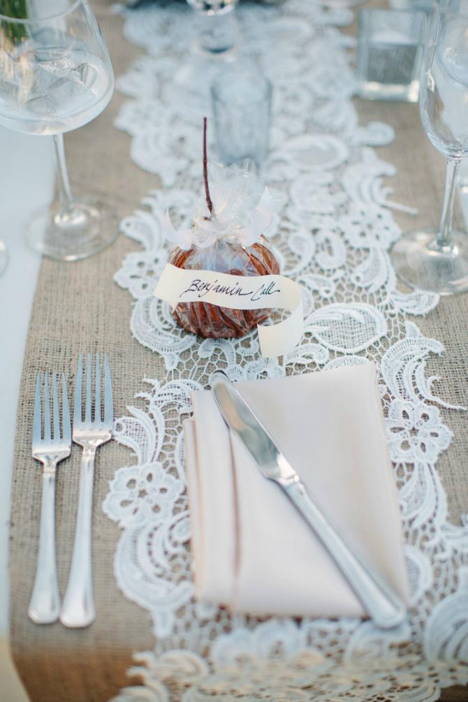 441 Dekoracija od ČIPKE za vaše venčanje