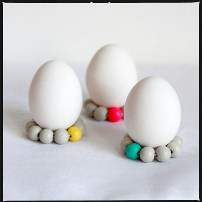 Držač od perlica Napravite sami mališanima DRŽAČE za jaja