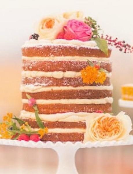 """Izaberite originalnu i """"NEDOVRŠENU"""" tortu za venčanje"""