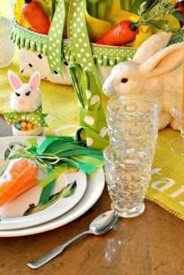 Maštovita DEKORACIJA stola za Uskrs