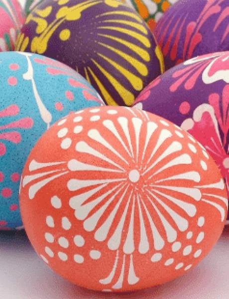 Ofarbajte uskršnja jaja PRIRODNIM bojama