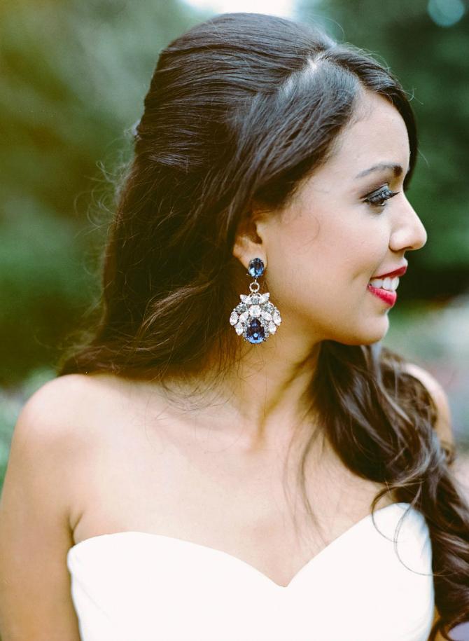 S12 Minđuše u BOJI za dan venčanja
