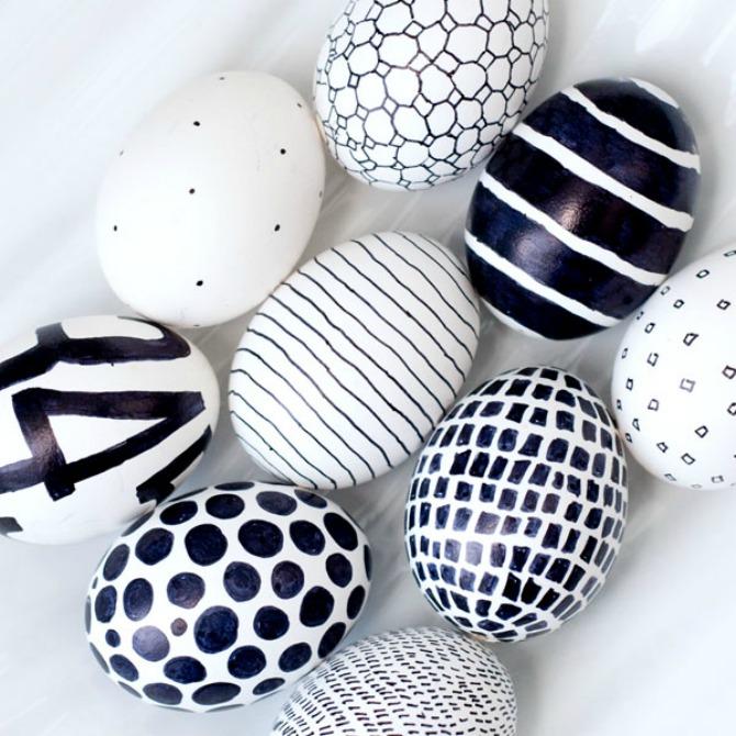 uskrsnja jaja Neobični načini za ŠARANJE uskršnjih jaja
