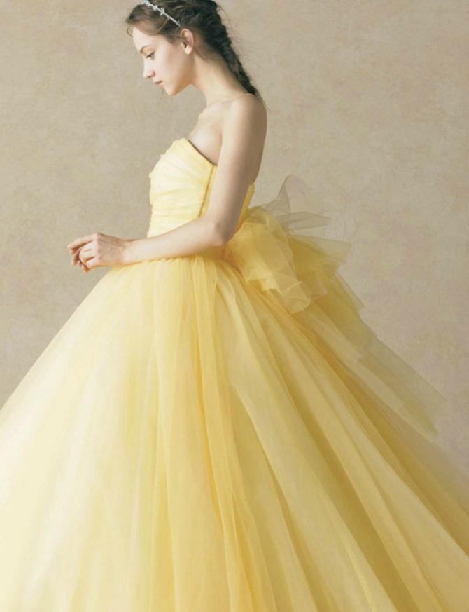 zuta51 Žute venčanice za ORIGINALNE mlade