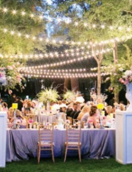 Ideje za DEKORACIJU venčanja na otvorenom
