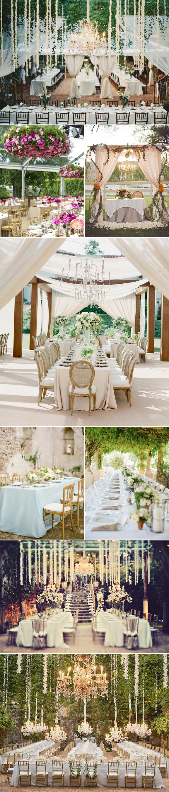 dekoracija vencanja Ideje za DEKORACIJU venčanja na otvorenom