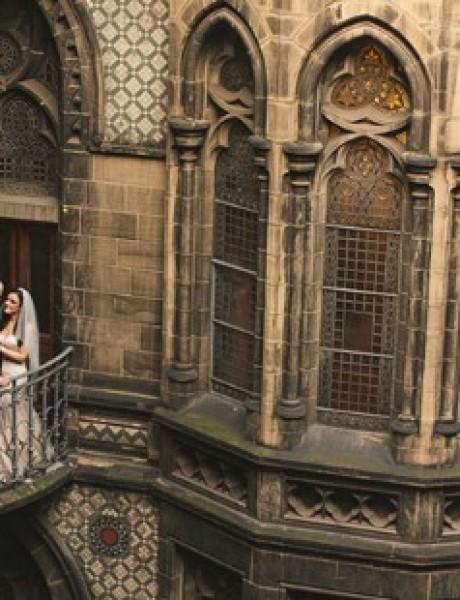 Magično venčanje inspirisano pričom o Hariju Poteru (GALERIJA)