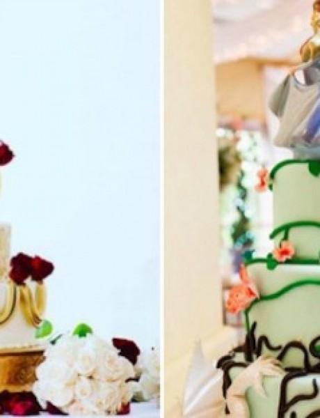 """Romantične svadbene torte za """"živeli su srećno do kraja života"""""""