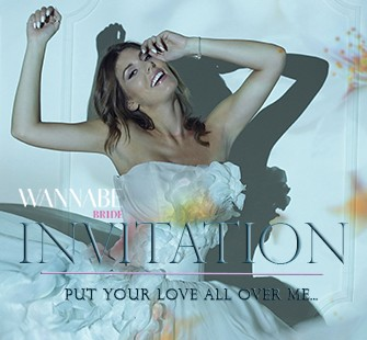 Wannabe Bride editorijal: Invitation