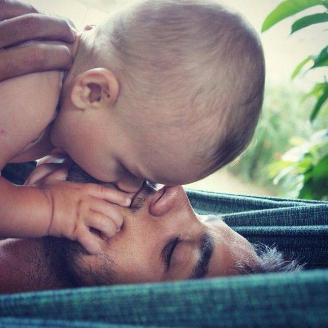 beba 2 Da se rastopiš: Najslađe fotografije srećnih očeva i njihovih beba