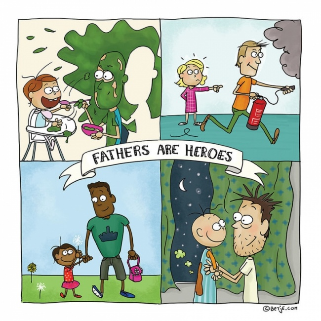 roditelj 11 15 simpatičnih ilustracija u kojima će se svaki roditelj pronaći