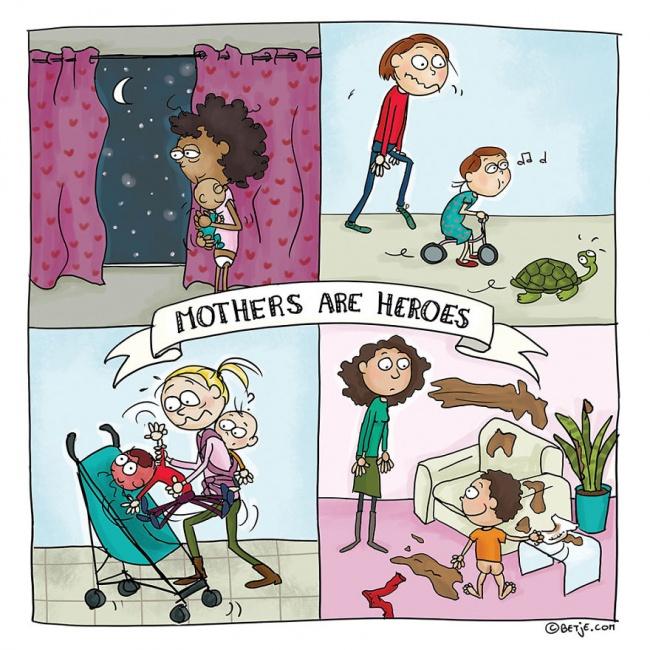 roditelj 3 15 simpatičnih ilustracija u kojima će se svaki roditelj pronaći